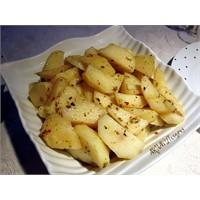 Yunan Usulu Limonlu Patates