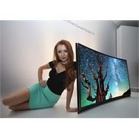 Samsung'dan Dünyanın İlk Kavisli Oled Tv'si