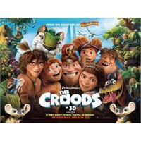 Çocuklarla İzlenebilecek Harika 1 Film: Croodlar