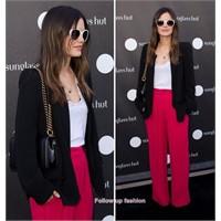 Rachel Bilson'nın Renkli Pantolonu