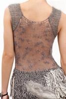 Modacılardan Farklı Tasarımlı Şık Örgü Elbise Mode
