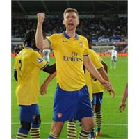 Rüya Gibi: Swansea City 1-2 Arsenal