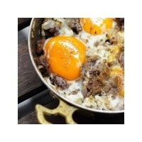 Kavurmalı Yumurta Tarifi