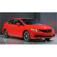 Makyajlı 2013 Honda Civic Sedan (U.S.) Los Angeles
