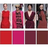 2012/2013 Sonbahar - Kış Renk Trendleri