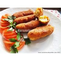 Tavuklu Patates Kroket Tarifi