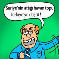 Suriye'nin Top Mermileri / Karikatürüm