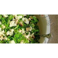 Ispanaklı Diyet Salata