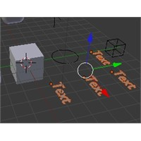Blender 3d Nesne Türlerine Göre Seçim Yapma