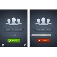 İphone Kişi Yedekleme My Contacts Backup App...