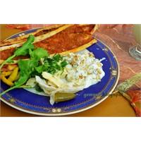 Süzme Yoğurtlu Kabak Salatası
