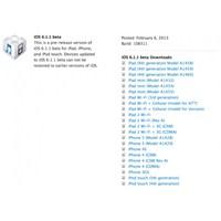 İos 6.1.1 Sürümü Geliştiriciler İçin Yayınlandı