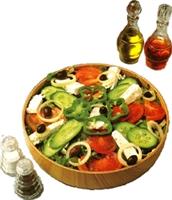 Salatalar İçin Sirke Sosu Tarifi