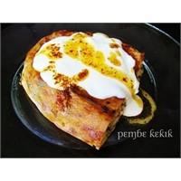 Tavuklu Börek-yoğurtlu