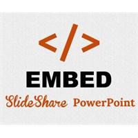 Blogger Yayın İçine Powerpoint Slayt Eklemek