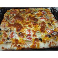 İnce Hamurlu Pizza İzmirdenlezzetler
