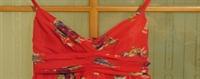 Kırmızı Şifon Elbisem