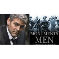 """Clooney """"The Monuments Men""""in Çekimlerine Başladı!"""