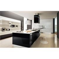 30 Siyah – Beyaz Mutfak Tasarımı