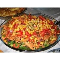 Bol Vitaminli Karışık Sebze Salatası