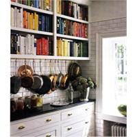 Mutfakta Kitaplıklar Aklınızı Başınızdan Alacak!