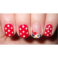 Nail Art - Hello Kitty Yapımı