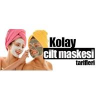 Kolay Cilt Maskesi Tarifleri