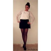 Kombin Önerileri 47 : White Blouse & Fringed Skirt