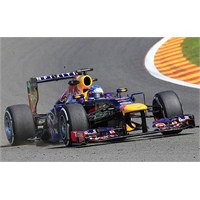 Belçika'da Zafer Sebastian Vettel'in