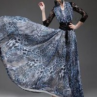 Zarif Kloş Elbise Modelleri