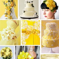 Yaza Özel Sarı Düğünler