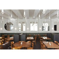İsviçre'de Volkshaus Bar Aydınlatma