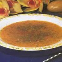 Kıymalı Tarhana Çorbası...
