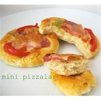 Mini Pizza Ve Tarçınlı Rulo...Disalce
