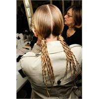 Yeni Trend:halat Görünümünde Saçlar