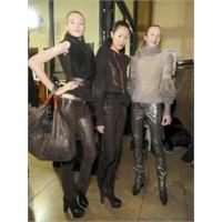 Deri Pantolon Kış 2011-12 Modası