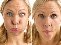 Üç Farklı Yüz Germe Egzersizi