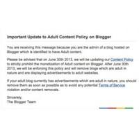 Google'dan Blogger'daki Cinsel İçeriklere Atak