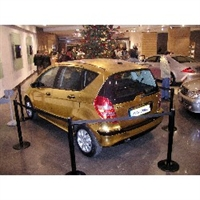 Altın Kaplama Otomobil