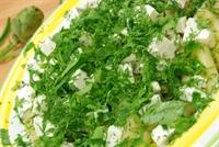 Enginarlı Makarna Salatası