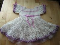 Bebeklerinize Gelinlik Gibi Elbise Örün
