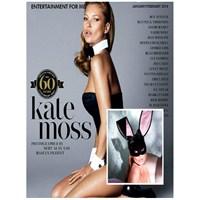 Kate Moss Playboy'a Soyundu