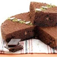 Krokanlı Ve Çikolatalı Kek