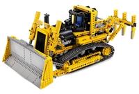 Lego Dünyası-motorized Bulldozer