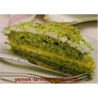 Ispanaklı Yeşil Pasta