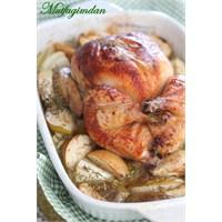 Fırında Elmalı Tavuk