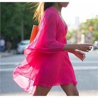Trend: Pembe Elbise