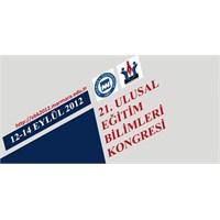 21. Ulusal Eğitim Bilimleri Kongresi