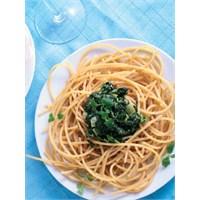 Ispanaklı Spagetti