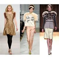 2012 Sonbahar Kış Moda Trendleri: Kürklü Omuzlar